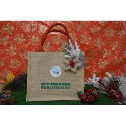 SHOPPER IN JUTA 100% COLORE NATURA